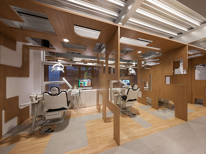 西村歯科口腔外科クリニックの診察室