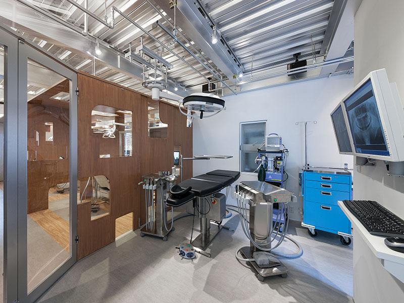 西村歯科口腔外科クリニックの手術室